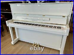 Kawai CX-21D Studio Upright Piano 48 Polished White