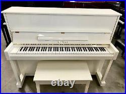 Kawai CX-21 Upright Piano 48 Polished Ivory