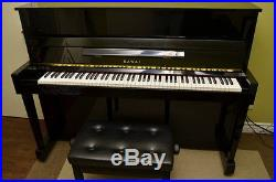 Kawai CX-5H Upright Piano 2000 Upright Piano Polished Ebony & Bench
