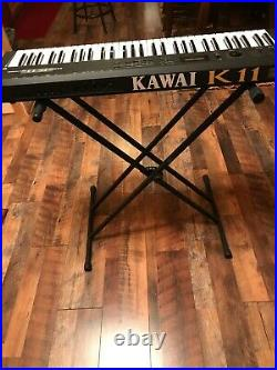 Kawai Electric Piano K11 Synthesizer Very good condition 61 keys total