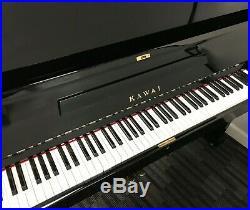 Kawai KS3F Upright Piano Model KS3F 50 Vertical Polished Ebony VIDEO