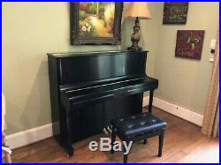 Kawai K-3 Upright Piano Satin Ebony Finish 2012