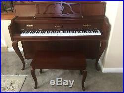 Kawai Piano Upright Model 607 FRC With Bench