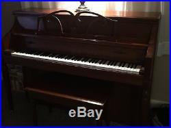 Kawai upright piano, barely used