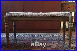 Kimball Artist Console Piano with matching bench (Walnut)