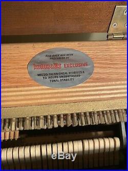 Kimball Artist Console Upright Piano