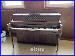 Kimball Console Upright Piano