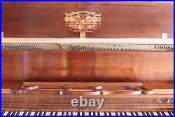 Kimball Sonata Upright Piano, Bench, Music / Lesson Books (P-up Media PA 19063)