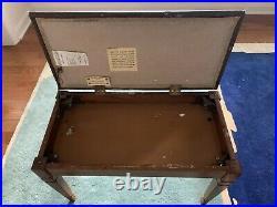 Kimball Upright Piano With Bench Oak Model 404P Serial # T42532 88 Keys