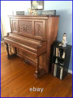 Kimball Victorian Upright Piano 1905