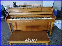 Kimball anniversary upright piano
