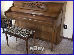 Kimball artist upright piano