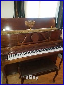 Kimball upright piano