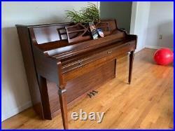 Kimball upright piano used