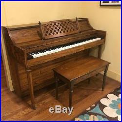 Kincaid 1970s Upright Piano