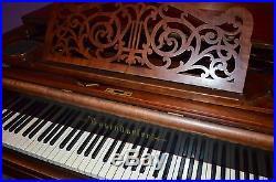Kleiner Bösendorfer Stutzflügel Salonflügel Klavier Grand Piano Pianoforte