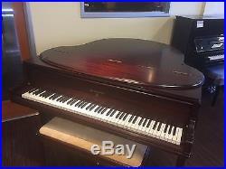 Knabe Baby Grand Piano Walnut Los Angeles 127784