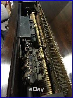 Knabe Upright Ampico Reproducing Player Piano Needs Restoration
