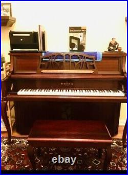 Knabe Upright Piano Euc