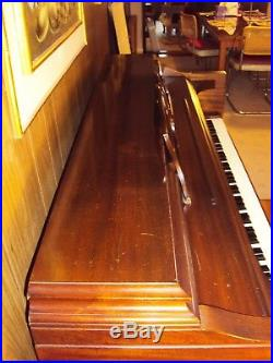 Knabe Upright Piano Vintage Fully Functional With Bench Good Condition