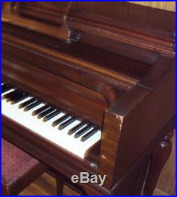 Knabe Upright Piano Vintage Local Pickup With Bench Good Condition