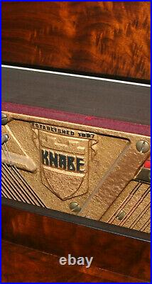 Knabe Upright Piano wth Bench, Mahogany, Appx. 1947, Great Cond. 1 owner