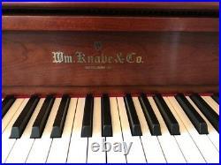 Knabe wv 243 upright piano