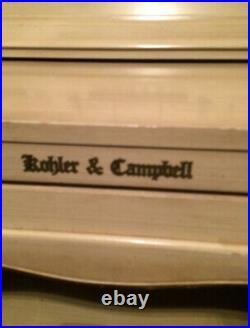 Kohler & Campbell Piano-Blond wood-Plays Great