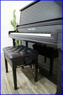 Mason & Hamlin 50 Upright Piano Sostenuto Pedal Quality Built American Piano