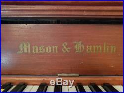 Mason & Hamlin Classic Upright Piano