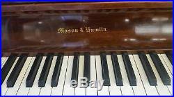 Mason & Hamlin Upright Piano