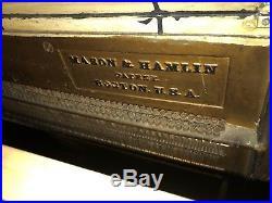 Mason & Hamlin Upright Piano 1880's Vintage