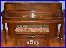Mason and Hamlin 1955 Model H Console Piano Excellent Original Condition