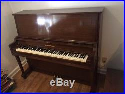 Mason and Hamlin Upright Piano Professional Size 1967