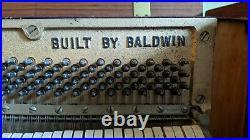 Mid Century Modern Baldwin Acrosonic Danish Modern Piano