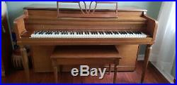 Milton piano in good condition. Will need to be tuned