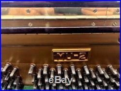 Morgenstern MU-2 Upright Piano 48 Polished Mahogany
