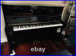 P116PE Yamaha Upright Piano Ebony Polish