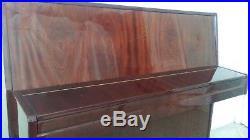 PETROF 115 Upright Piano Mahogany Finish