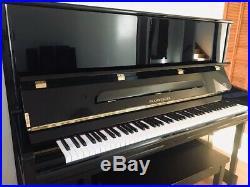 PRAMBERGER Piano. 52 Professional Upright. Ebony High Polish. PV131