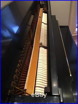 Petrof 52 Upright Black Satin Finish Piano