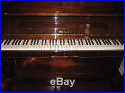 Petrof Czech Republic Piano Model 581-041 Upright Excellent condition