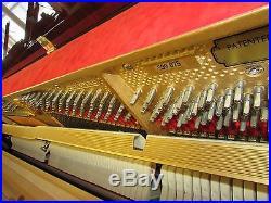 Petrof Upright Piano Walnut Polish 46