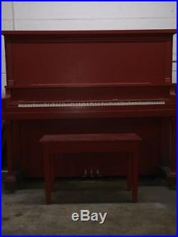 Piano Leonard/Lester Tall Upright 54 Antique 1920's