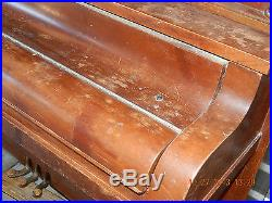 Piano! Meister! Upright! Early 1920's! For Refurbishing Or Repurposing! As Is