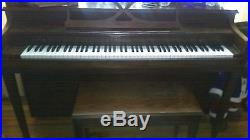 Piano, Patrick Henry Spinet, 1980's, Height 371/2'