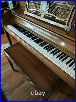 Piano Sohmer & Co Upright Piano Maple Wood
