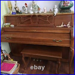 Piano, upright Baldwin Acrosonic, excellent condition, everything works