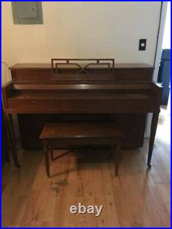 Primrose by Sohmer Upright Piano