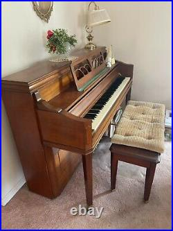 Primrose by Sohmer Upright Piano With Bench